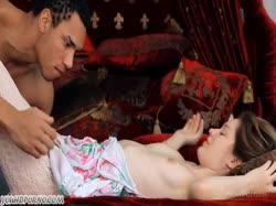 Скриншот для Негр устроил нежное порно с красивой молодкой в колготках